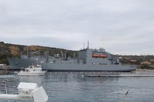 H&M Navy Boat