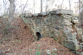 A culvert at the saw mill