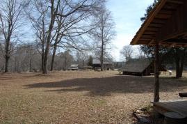 Replica 19th century South Carolina yeoman farm