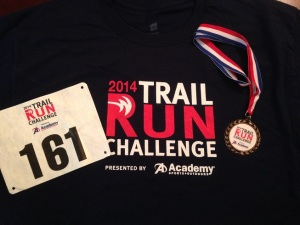 Trail Run Challenge 2014
