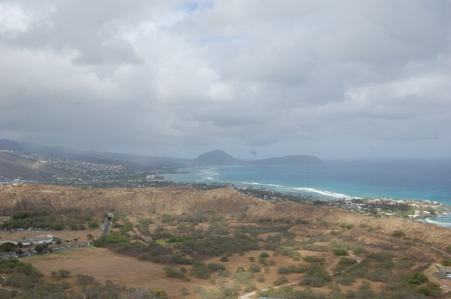 Koko Crater (left) and Koko Head (right)