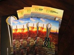 Clemson 2016 Title Tickets